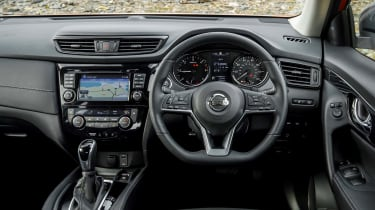 2017 Nissan X-Trail - dashboard