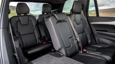Volvo XC90 Recharge rear seats
