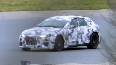 2022 Ferrari Purosangue SUV - prototype front cornering