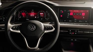 2020 Volkswagen Golf screens