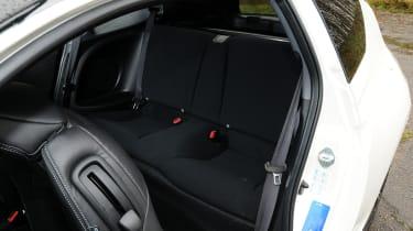 Honda CR-Z rear seats
