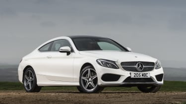 Diesel engines include the C220d and C250d, which can both return fuel economy of over 60mpg
