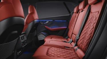 Audi SQ8 SUV rear seats