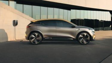 Renault Megane eVision concept side