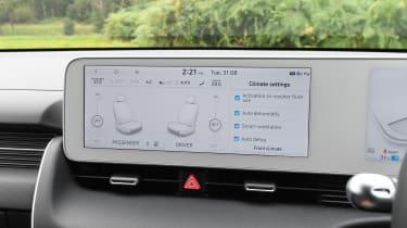 Hyundai Ioniq 5 infotainment display