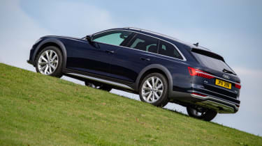 Audi A6 Allroad quattro estate hill ascent