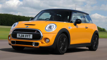 Redesigned bumpers set Cooper S apart from rest of range