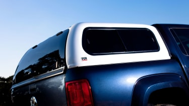 Options such as the load bay cover widen the Amarok's appeal
