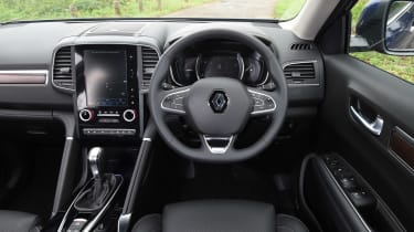A neat design and soft-touch materials help give the Koleos one of the best interiors of any Renault so far