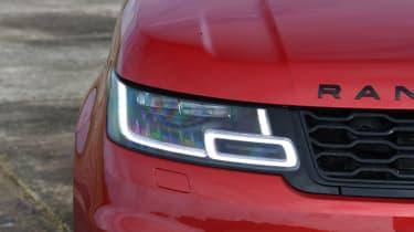 Range Rover Sport SUV headlight