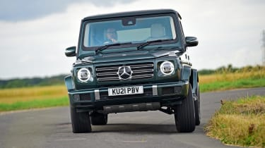 Mercedes G-Class SUV front dynamic