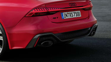 Audi RS7 rear end