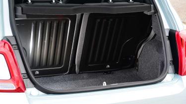 Fiat 500 mild hybrid boot