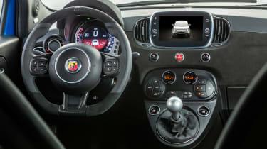 2021 Abarth 595 Competizone interior