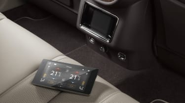 2020 Bentley Bentayga SUV - tablet device