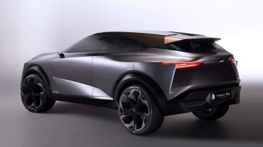 Nissan IMQ Concept reveal - rear quarter view