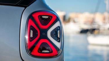 Smart EQ ForTwo hatchback rear lights