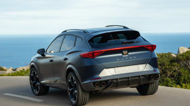 2020 Cupra Formentor SUV  - rear cornering