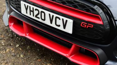 MINI JCW GP - front bumper close