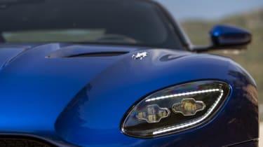 Aston Martin DBS Superleggera Volante nose