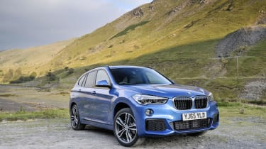 The BMW X1 offers plenty of driver appeal...