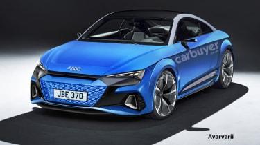 Audi TT EV - front