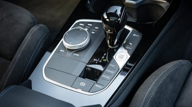 BMW M135i xDrive - gear selector detail