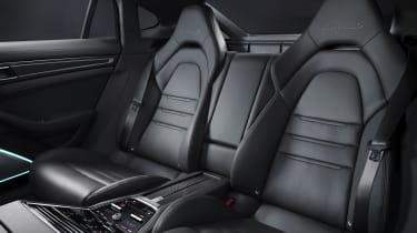 2020 Porsche Panamera Turbo S rear seats
