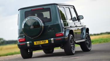 Mercedes G-Class SUV rear dynamic