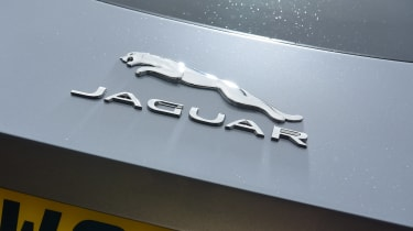 Jaguar F-Type coupe boot badge