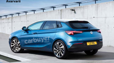 New 2021 Vauxhall Astra previewed with coupe styling ...