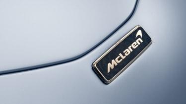 2020 McLaren Speedtail badge