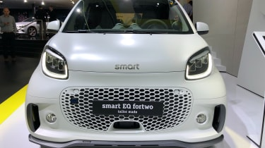 Smart EQ ForTwo front view