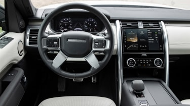 Land Rover Discovery SUV interior