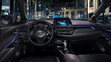The interior is substantially more stylish than other Toyota models currently on sale