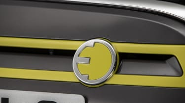 MINI Electric - front badging view