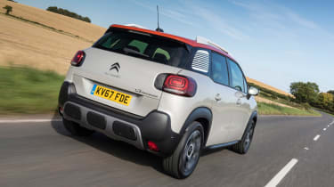 The Citroen C3 Aircross is a small SUV with a quirky design, large boot and economical engines
