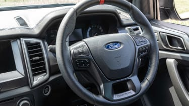 Ford Ranger Raptor pickup interior