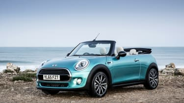 The MINI Convertible is one of the best selling soft tops in the UK