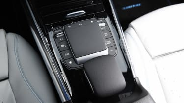 Mercedes EQA SUV review trackpad