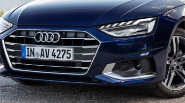 Audi A4 Avant estate headlights