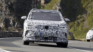2021 Volkswagen ID.4 SUV  - front view close up