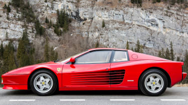 Unfairly maligned when it went on sale in the 1980s, the Testarossa's kudos is on the rise, and prices have followed suit