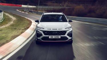 2021 Hyundai Kona N - front view dynamic