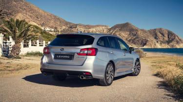 2019 Subaru Levorg - rear quarter view