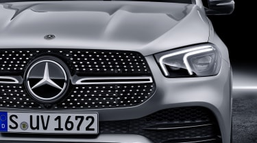 2019 Mercedes GLE grille