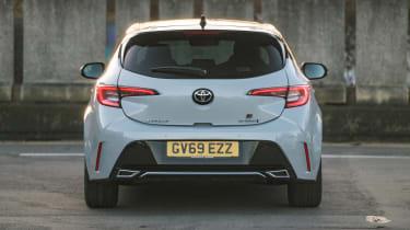 Toyota Corolla hatchback rear