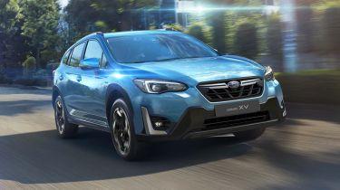 Subaru XV driving