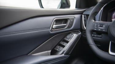 New Nissan Qashqai interior detail