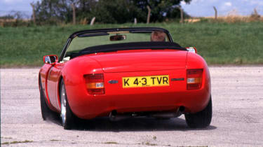 TVR Griffith rear